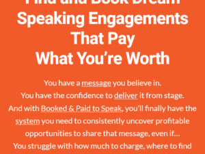 Grant Baldwin – Get Inside Booked & Paid to Speak