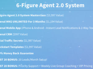 Jason Wardrope – Seller Leads Mastery Course & 6-Figure Agent 2.0 System