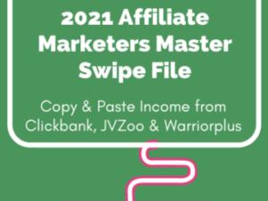 Jim Daniels – 2021 Affiliate Marketing Master Swipe File